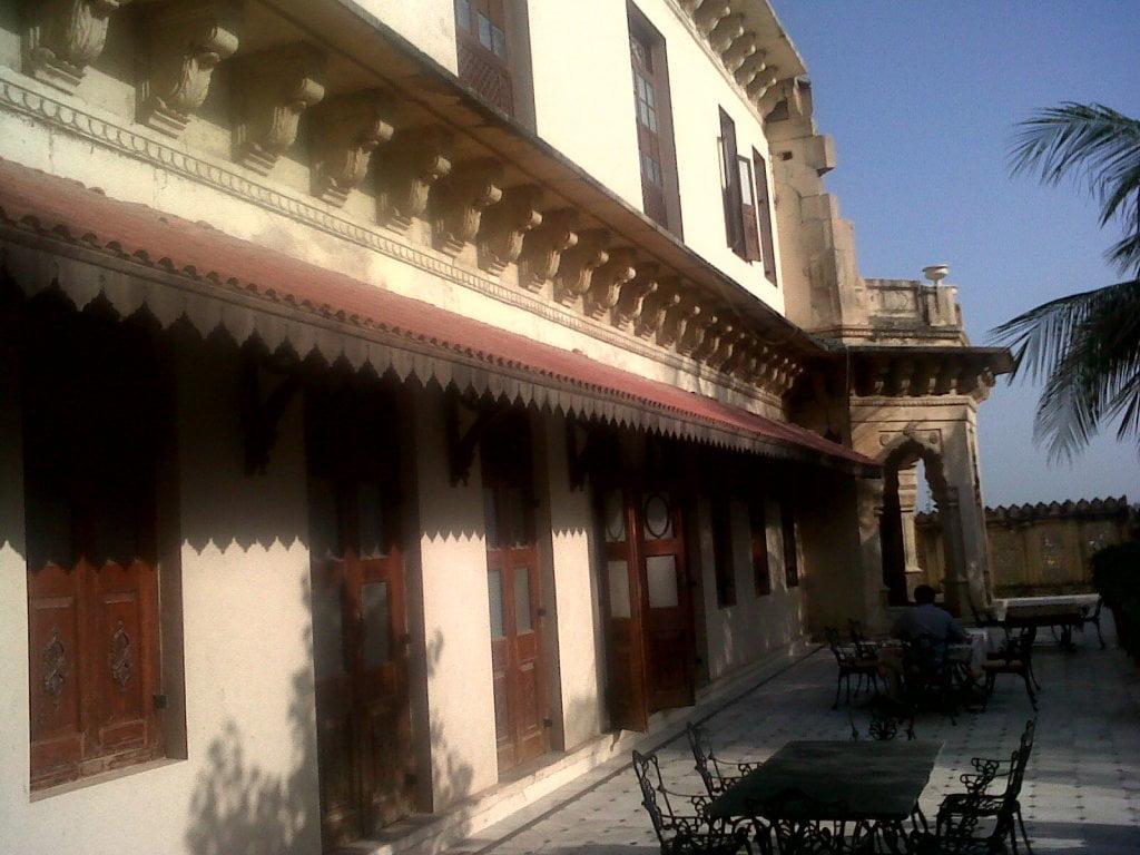veranda of Darbargadh palace