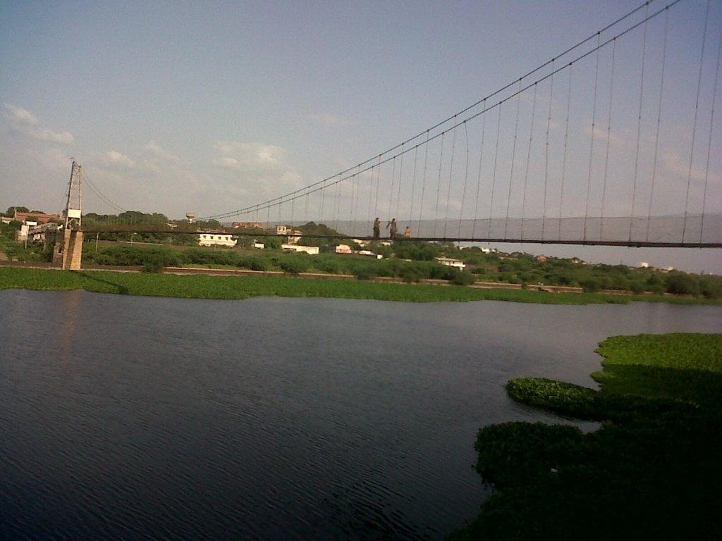 Julto Pool (Suspension bridge)