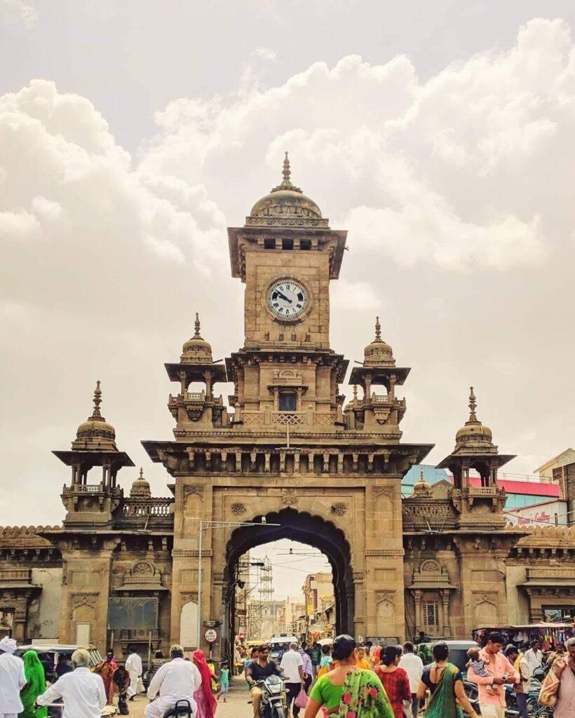 nehru-gate marketplace of Morbi city